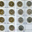 Monedas Franco: LOTE DE 15 MONEDAS DIFERENTES DE 50 CENTIMOS. Lote 27381004