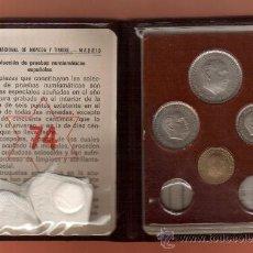 Monedas Franco: PRECIOSA CARTERA NUMISMATICA PRUEBA 1974 ESTADO ESPAÑOL ORIGINAL MAS MONEDAS EN MI TIENDA VISITALA. Lote 20451093