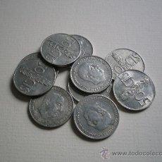 Monedas Franco: LOTE 10 MONEDAS 50 CENTIMOS - 1966 - MONEDA. Lote 21880315