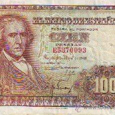 Monedas Franco: CIEN PESETAS 2 DE MAYO DE 1948. Lote 27366276