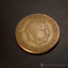 Monedas Franco: MONEDA 1 PESETA 1953 *56 . Lote 21931065