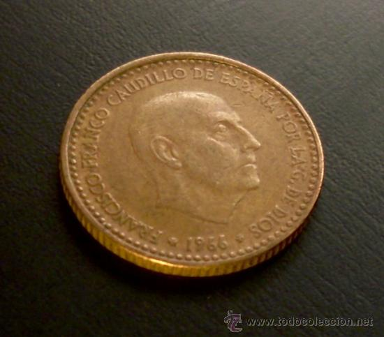 Monedas Franco: MONEDA 1 PESETA 1966 *69 - Foto 1 - 21931628