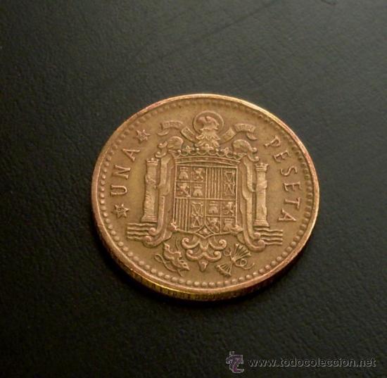 Monedas Franco: MONEDA 1 PESETA 1966 *69 - Foto 2 - 21931691