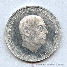 Monedas Franco: 50 CENTIMOS 1966*72. RARA CON ESTRELLAS PERO CON OXIDACIONES.. Lote 22349501