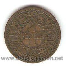 Monedas Franco: 1 PESETA 1944. Lote 22909549