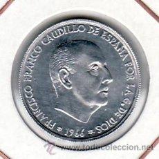 Moedas Franco: .MONEDA ESPAÑA FRANCO 50 CTS DE PTA 1966*73 SIN CIRCULAR. Lote 216894210