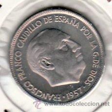 Moedas Franco: .MONEDA ESPAÑA FRANCO 5 PTA 1957*72 SIN CIRCULAR. Lote 26094556