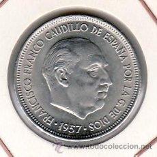 Moedas Franco: .MONEDA ESPAÑA FRANCO 5 PTA 1957*71 SIN CIRCULAR. Lote 62051270