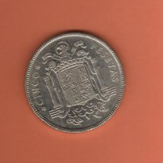 Monedas Franco: BONITA MONEDA DE 5 PESETAS TAMAÑO GRANDE DEL AÑO 1949*50 QUE NO TE FALTE EN TU COLECCION. Lote 27165585