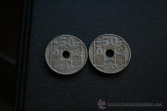50 CÉNTIMOS 1949 *53 (Numismática - España Modernas y Contemporáneas - Estado Español)