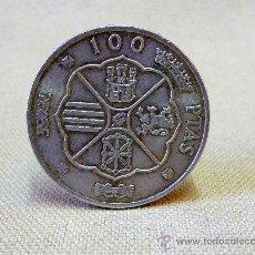 Monedas Franco: MONEDAD DE 100 PESETAS , 1966, ESTRELLA 67. Lote 25024952