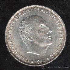 Monedas Franco: MONEDA DE 100 PESETAS. 1966 - ESTRELLA 69 PALO RECTO S/C. Lote 27707169