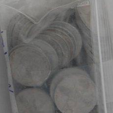 Monedas Franco: LOTE DE 10 MONEDAS DE 50 CENTIMOS DE FRANCO. Lote 28280659