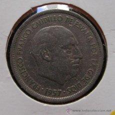 Monedas Franco: ESPAÑA 5 PESETAS 1957, ESTRELLA 71. Lote 28409420