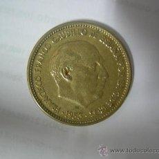 Monedas Franco: MONEDA DE 2,50 PESETAS DE FRANCO 1953 - ESTRELLA 19 - 54 EN . Lote 28484250