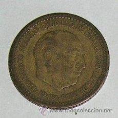 Monedas Franco: PESETA 1947 ESTRELLA 52 ESCASA . Lote 28524092