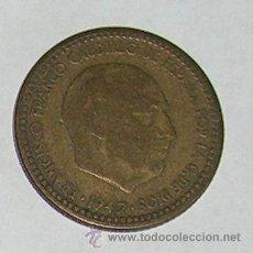 Monedas Franco: PESETA 1947 ESTRELLA 48. Lote 28524143
