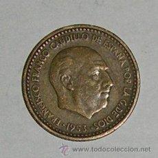 Monedas Franco: PESETA 1953 ESTRELLA 60. Lote 28546712