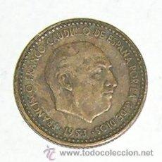 Monedas Franco: PESETA 1953 ESTRELLA 62. Lote 28546789