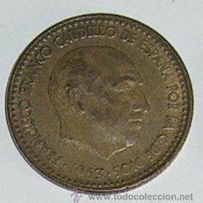 Monedas Franco: PESETA 1963 ESTRELLA 63. Lote 28567621