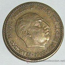 Monedas Franco: PESETA 1963 ESTRELLA 65. Lote 28567642