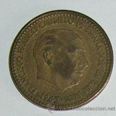 Monedas Franco: PESETA 1963 ESTRELLA 66. Lote 28567679