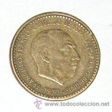 Monedas Franco: PESETA 1953 ESTRELLA 62. Lote 28639966