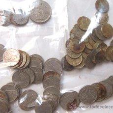 Monedas Franco: LOTE DE MONEDAS CENTIMOS - DE PESETA - 1 Y 5 - 25 - 50 PESETAS. Lote 29446710