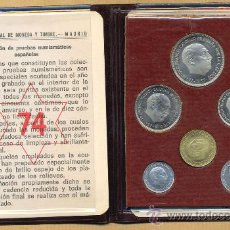Monedas Franco: CARTERITA OFICIAL 1974 PROOF.. Lote 30115815