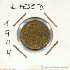 Monedas Franco: 1 PESETA 1944..MONEDA DEL ESTADO ESPAÑOL. EMITIDA POR FRANCISCO FRANCO. Lote 30637082