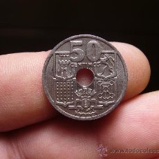 Monedas Franco: ESPAÑA - 50 CENTIMOS 1949 EST. 51 - FLECHAS INVERTIDAS. Lote 30783839