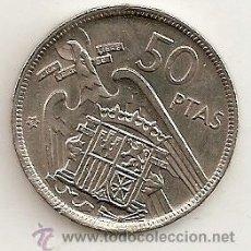 Monedas Franco: 50 PESETAS ESTRELLA 59. EBC. Lote 30793830