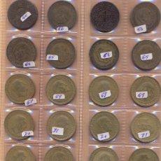 Monedas Franco: POST 676 - 32 MONEDAS DE PESETA DOS COLECCIONES DE 16 DIFERENTES. Lote 31786327