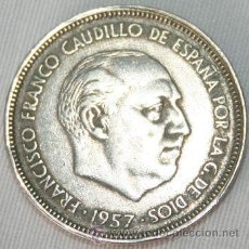 Monedas Franco: 25 PESETAS - 1957 - 65 - FRANCISCO FRANCO . Lote 31813149