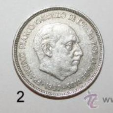 Monedas Franco: LOTE DE 3 MONEDAS DE 5 PESETAS DE 1957 - 75 - FRANCISCO FRANCO. Lote 31852043