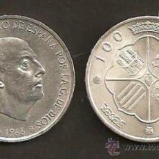 Monedas Franco: 100 PESETAS 1966 EST. 19-68. Lote 32026374