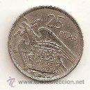Monedas Franco: 25 PESETAS DE 1957 ESTRELLA 58. MBC+. Lote 160967061