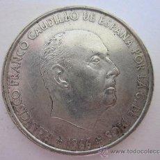 Monedas Franco: CIEN PESETAS DE FRANCO (PLATA) 1966. . Lote 33911083