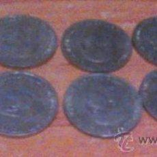 Monedas Franco: 10 MONEDAS IGUALES DE 50 CENTIMOS 1966 ESTRELLAS 1968. Lote 34112098