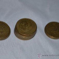 Monedas Franco: LOTE DE 13 MONEDAS DE 1 PESETA DE FRANCO, AÑO 1.966. Lote 34564438