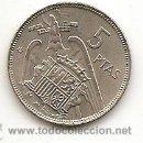 Monedas Franco: 5 PESETAS DE 1957 ESTRELLA 67 SIN CIRCULAR. BRILLO ORIGINAL. Lote 160966806