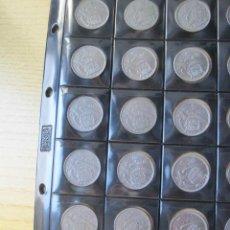 Monedas Franco: SERIE COMPLETA DE 5 PESETAS 1957 FRANCO ( 1 DURO ) + REGALO 2.5 PTAS. Lote 195922867