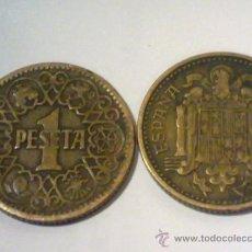 Monedas Franco: ESPAÑA 1 PESETA 1944 - FRANCISCO FRANCO. Lote 35315497