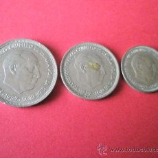 Monedas Franco: -MONEDAS DE ESPAÑA-FRANCO-1957*59-50.25.5 PESETAS-.. Lote 36010154
