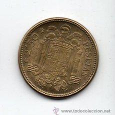 Monedas Franco: FRANCO. 2,50 PESETAS. AÑO 1953 *19 *54. SIN CIRCULAR.. Lote 36042945