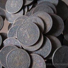 Monedas Franco: LOTE DE 100 MONEDAS DE 1 PESETA 1944. Lote 36495287