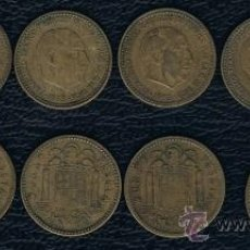 Monedas Franco: LOTE DE 6 MONEDAS DIFERENTES DE 1 PESETA 1953. Lote 28280750