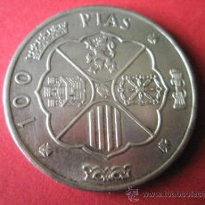 Monedas Franco: MONEDA DE ESPAÑA-100 PESETAS-FRANCO-PLATA-1966*68-30 MM.D-19,15 GRAMOS-PERFECTA.. Lote 36855266