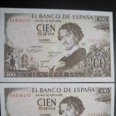Monedas Franco: PAREJA 100 PTAS 1965 SERIE I S/C. Lote 36916150