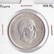 Monedas Franco: 100 PESETAS 1966-70 FRANCO. Lote 37159496